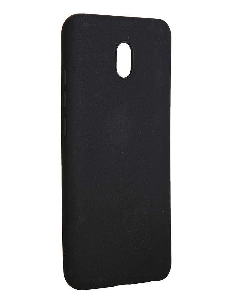 Чехол LuxCase для Xiaomi Redmi 8A TPU Black 62153
