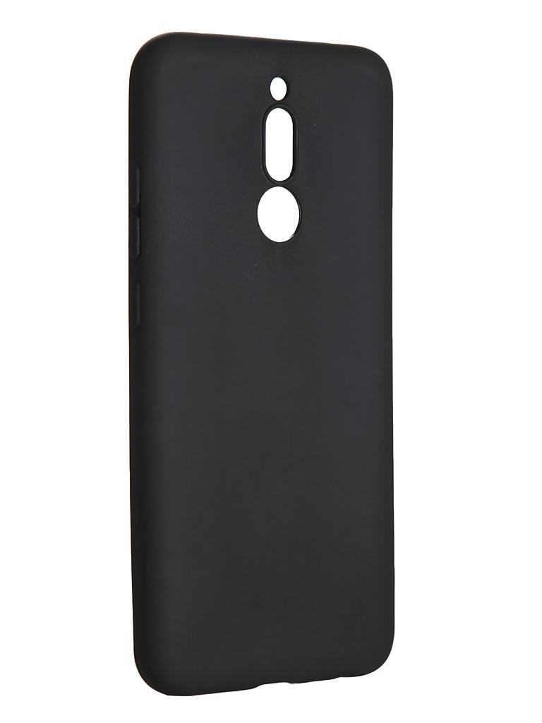 Чехол LuxCase для Xiaomi Redmi 8 TPU Black 62174