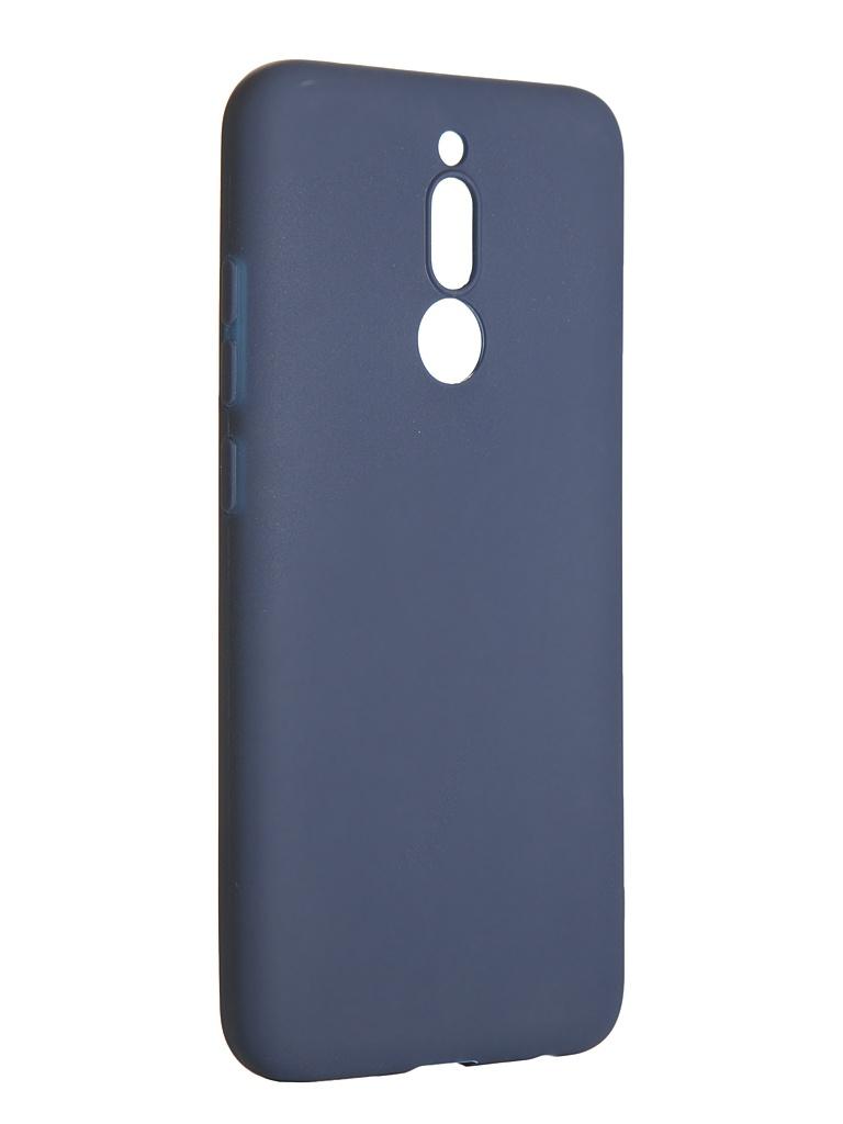 Чехол LuxCase для Xiaomi Redmi 8 TPU Blue 62175
