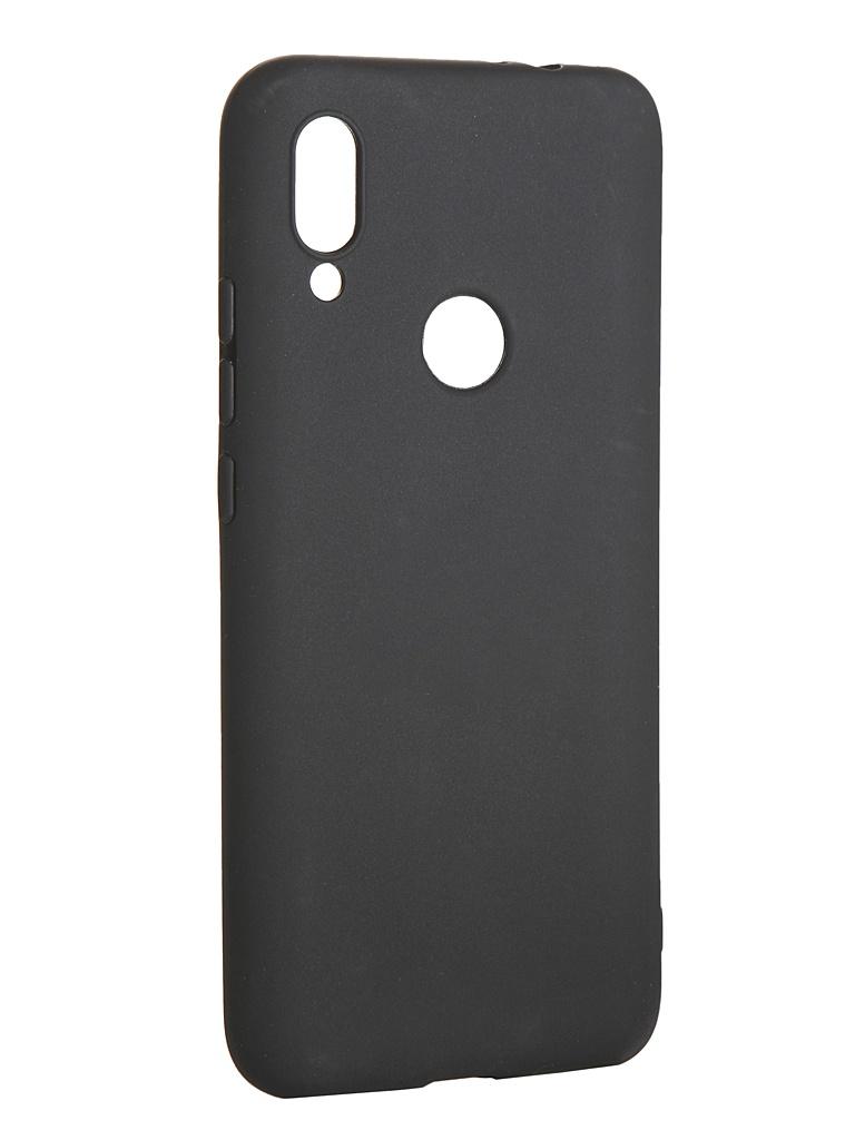 Чехол LuxCase для Xiaomi Redmi 7 TPU Black 62124