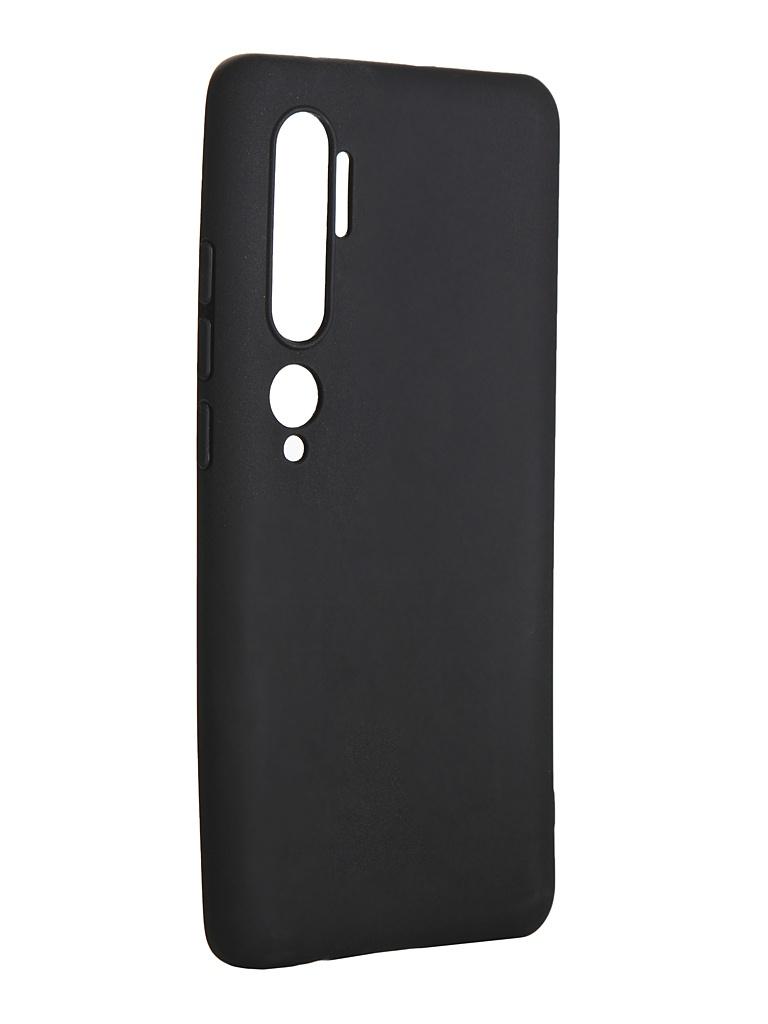Чехол LuxCase для Xiaomi Mi Note 10 TPU Black 62173