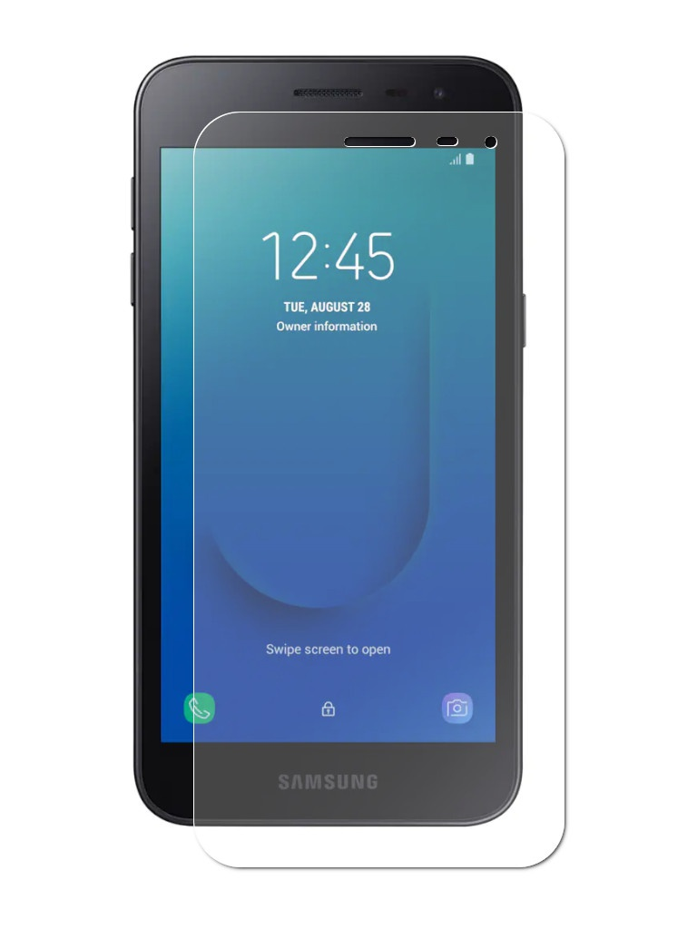 Защитное стекло LuxCase для Samsung Galaxy J2 Core 0.33mm 82579 аксессуар защитное стекло pero для samsung galaxy j2 2018 2 5d black