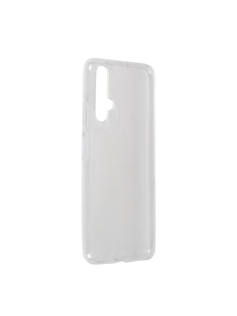 Чехол LuxCase для Huawei Nova 5T TPU Transparent 60194