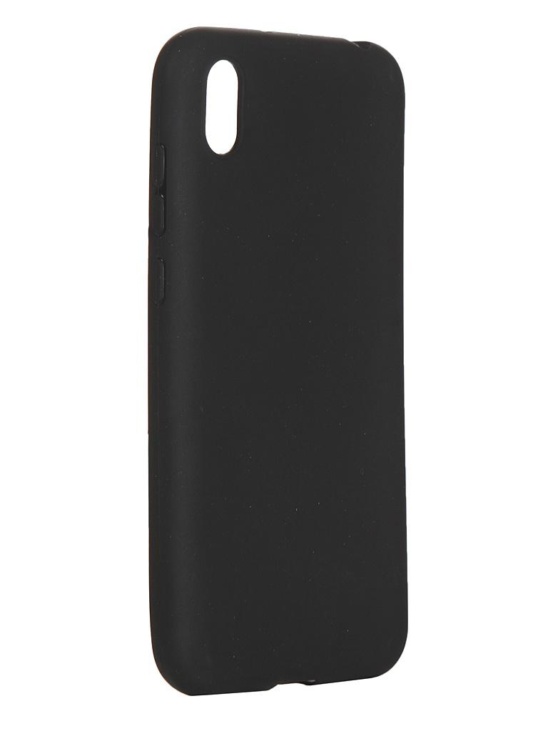 Чехол LuxCase для Honor 8S TPU Black 62080