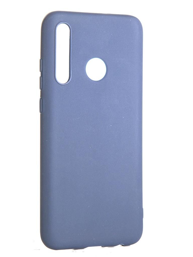 Чехол LuxCase для Honor 10i TPU Blue 62063