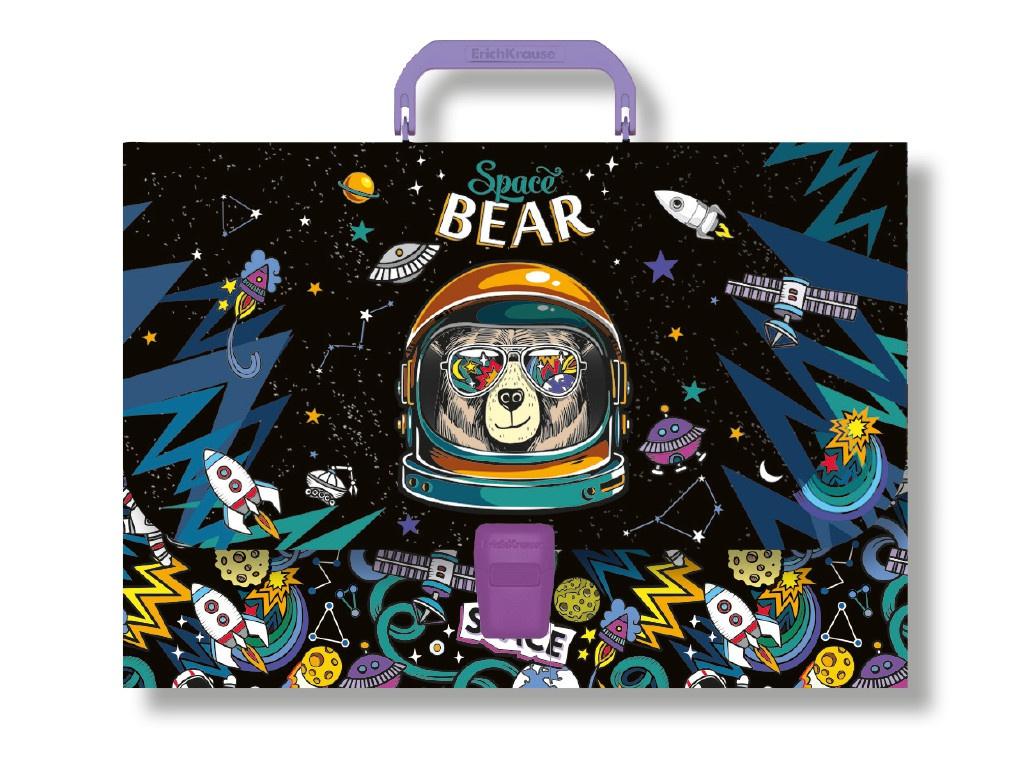 Папка ErichKrause Space Bear A4 47867