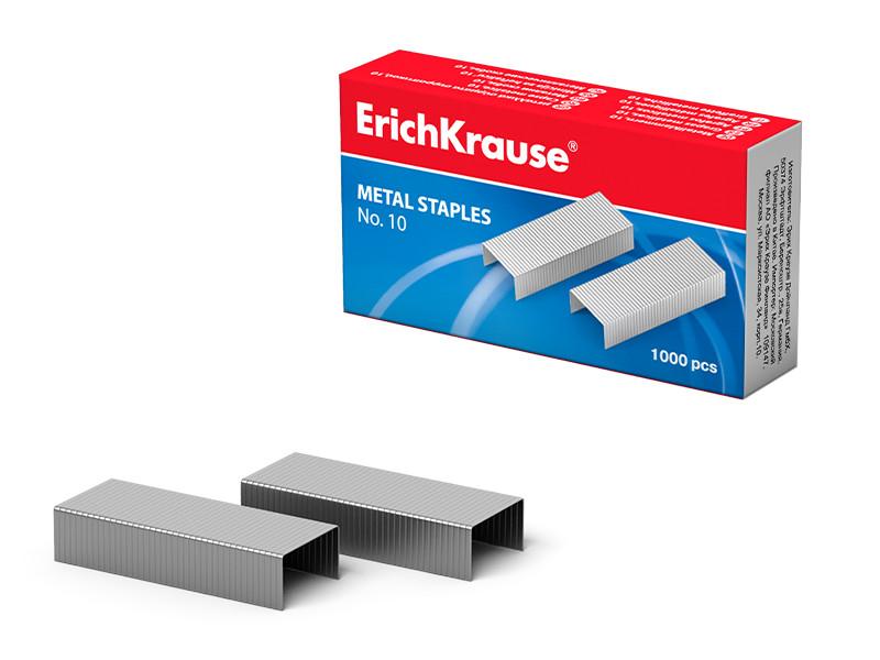 Скобы для степлера ErichKrause №10 1000шт 1188