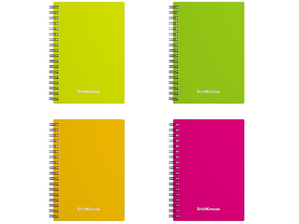 Записная книжка ErichKrause Neon A6 60 листов 43531