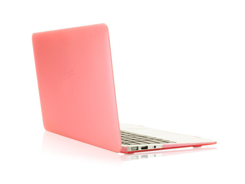 Аксессуар Чехол 13-inch Gurdini для APPLE MacBook Air 13 Plastic Matt Coral 911204