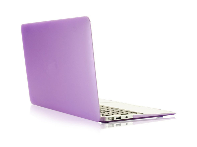 Аксессуар Чехол 13-inch Gurdini для APPLE MacBook Pro Retina 13 2016 With TouchBar Plastic Dark Lavender 911200