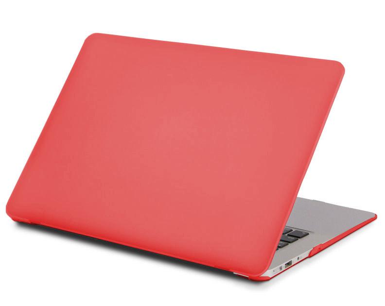 Аксессуар Чехол 13-inch Gurdini для APPLE MacBook Air 13 New 2018 Plastic Matt Red Hibiscus 911196