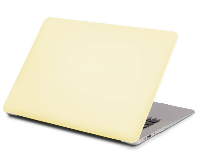 Аксессуар Чехол 13-inch Gurdini для APPLE MacBook Air 13 New 2018 Plastic Matt Lemon Cream 911194