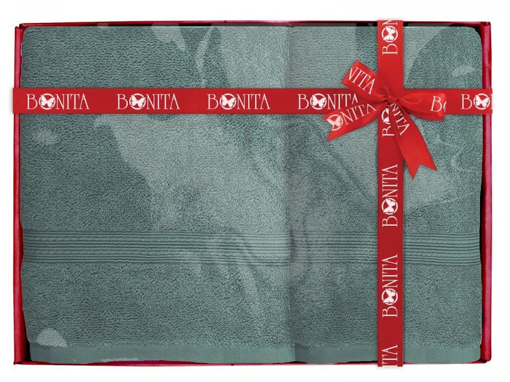 Полотенце Bonita Classic 2шт Blue-Green 21011218285