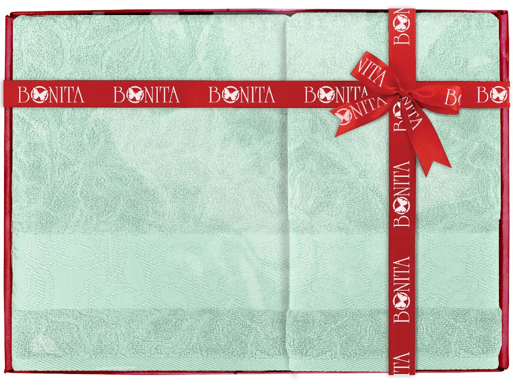 Полотенце Bonita Азалия 2шт Mint 21010119453