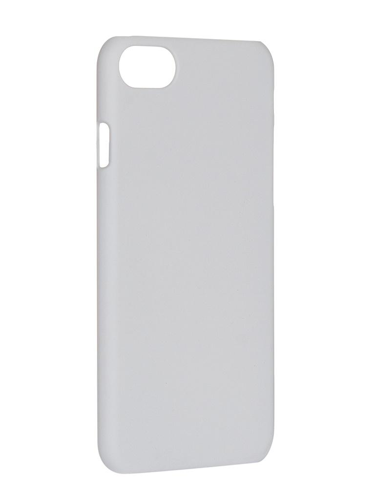 Чехол iBox для APPLE iPhone 7/8 Soft Touch Fresh White УТ000019648