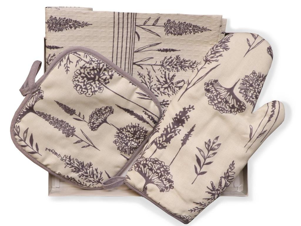 Набор Bonita Одуванчик - полотенце, рукавица, прихватка 11010819482