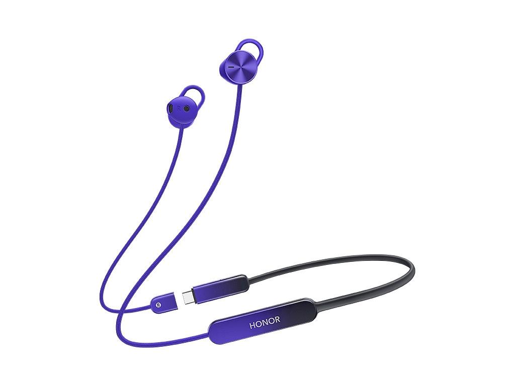 Наушники Honor Sport Pro AM66-L Purple 55031833 фото
