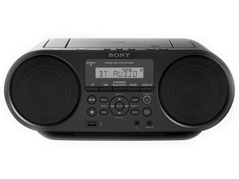 цена на Магнитола Sony ZS-RS60BT Black ZSRS60BT.RU5