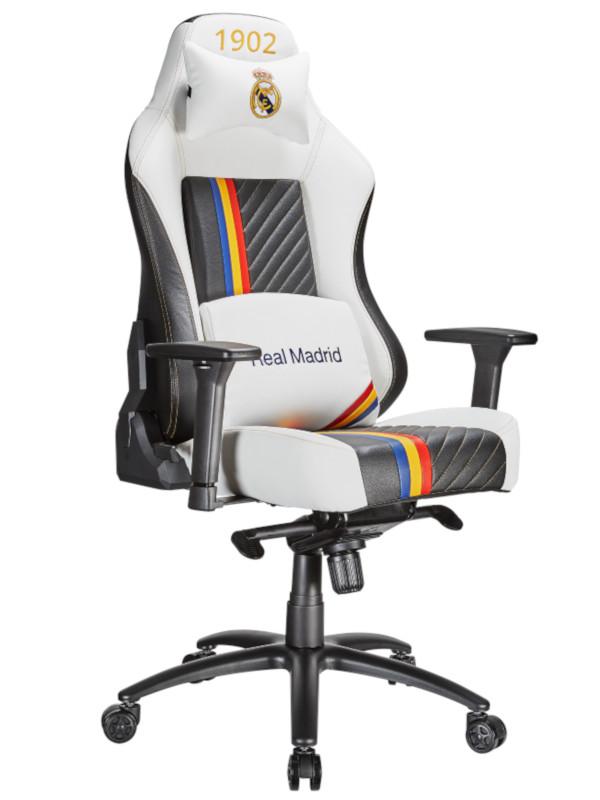 Компьютерное кресло Tesoro Real Madrid TSMB730RMWH White-Black