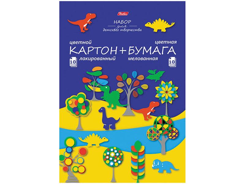 Набор цветной бумаги и картона Hatber CarbonStyle А5 80 листов 20НКБ4_18493 набор цветной бумаги и картона artspace a4 16 листов нкб10 16 4455 209668