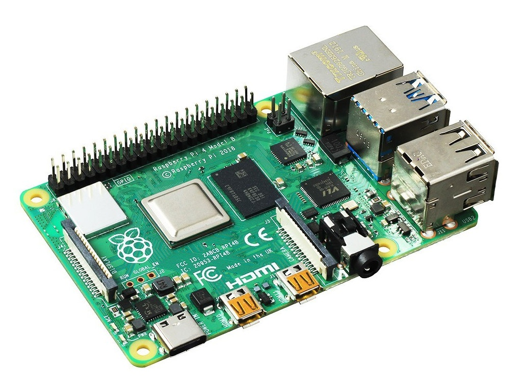 Мини ПК Raspberry Pi 4 Model B 4Gb