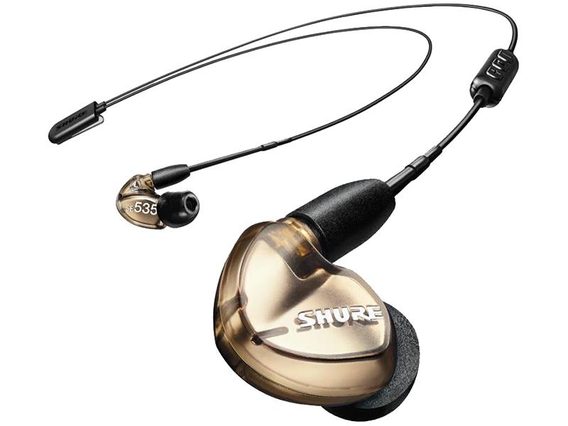 Наушники Shure SE535-V+BT2-EFS Bronze — SE535-V+BT2-EFS