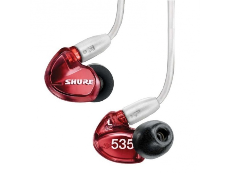 Наушники Shure SE535LTD+BT2-EFS Red — SE535LTD+BT2-EFS