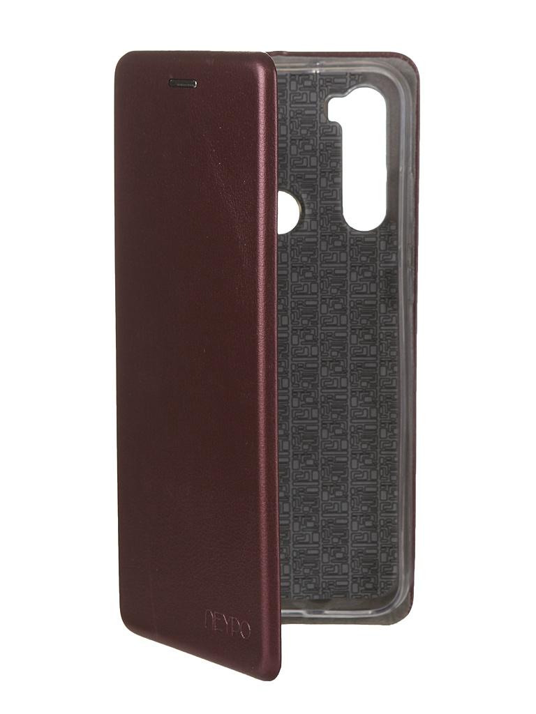 Чехол Neypo для Xiaomi Redmi Note 8T Premium Bordo NSB16051