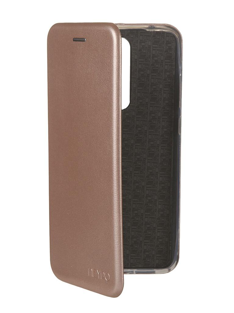 Чехол Neypo для Xiaomi Redmi Note 8 Pro Premium Rose Gold NSB15398 цена и фото