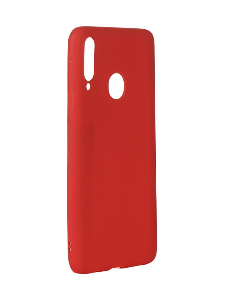 Чехол Neypo для Samsung Galaxy A20s 2019 Soft Matte Silicone Red NST15793