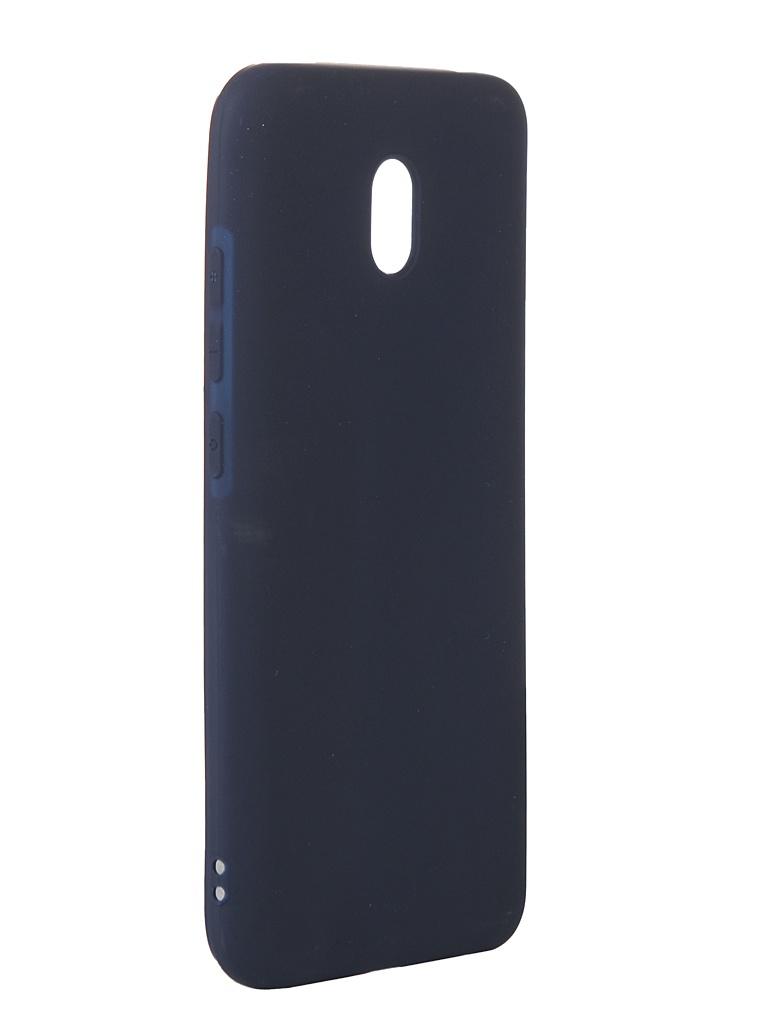Чехол Neypo для Xioami Redmi 8A Soft Matte Silicone Dark Blue NST15799