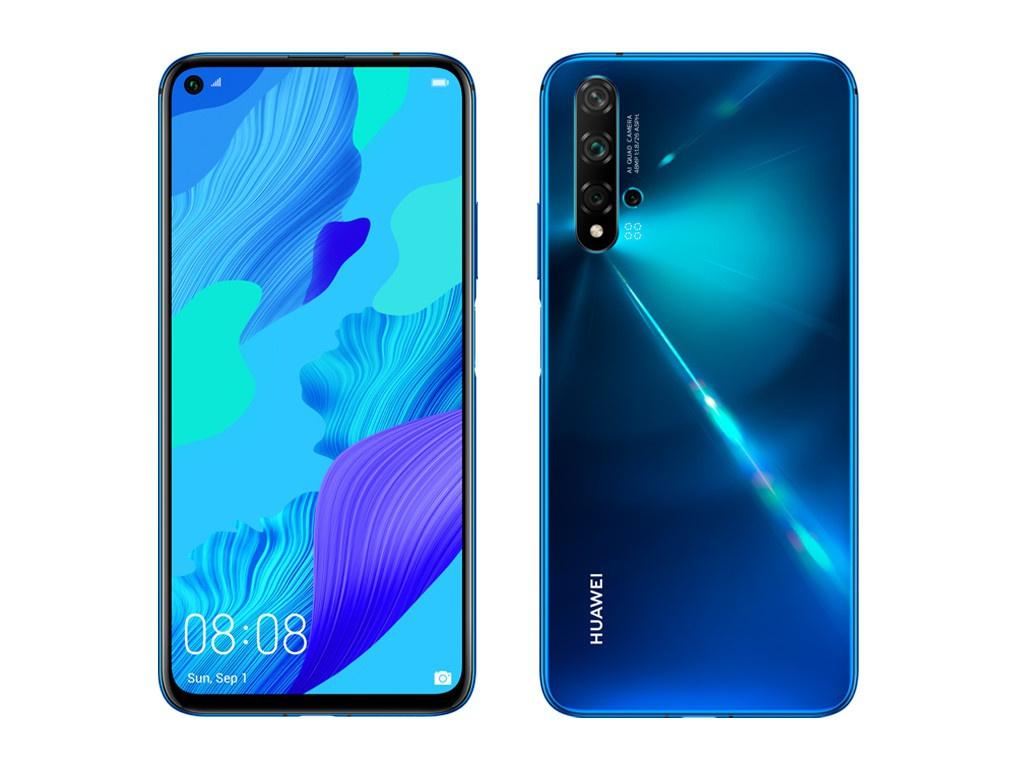 Сотовый телефон Huawei Nova 5T 6/128Gb Crush Blue Выгодный набор для Selfie + серт. 200Р!!!