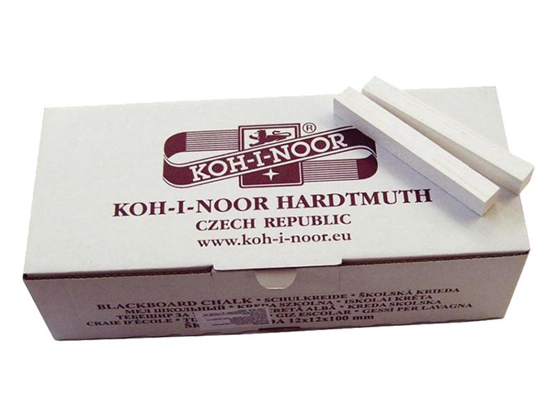 Мелки Koh-I-Noor 100шт White 011150200000