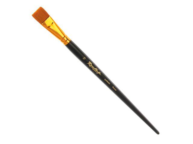 Кисть Roubloff Синтетика, жесткая, плоская №16 (длинная ручка) ЖС2-16,02Ж