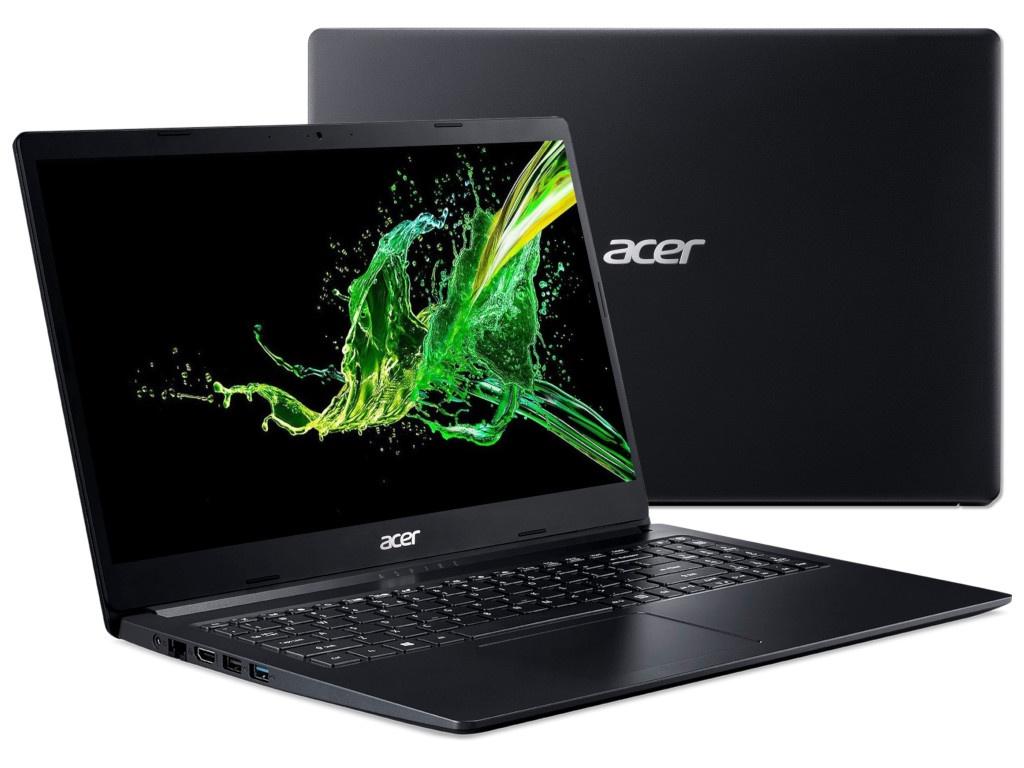 Ноутбук Acer Aspire 3 A315-34-P3DU NX.HE3ER.004 (Intel Pentium N5000 1.1GHz/4096Mb/500Gb/No ODD/Intel HD Graphics/Wi-Fi/Bluetooth/Cam/15.6/1366x768/Linux) — A315-34-P3DU