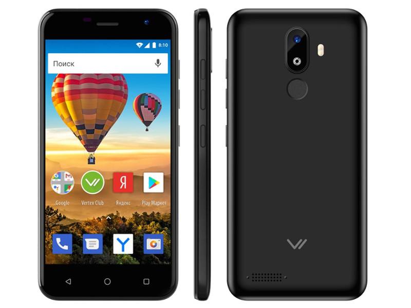 Сотовый телефон Vertex Impress Luck L120 Black мобильный телефон vertex m120 black