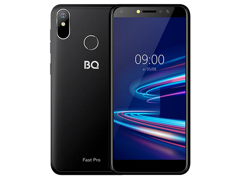 Сотовый телефон BQ 5540L Fast Pro Black
