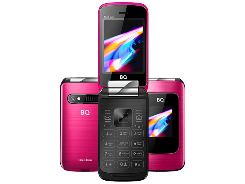 Сотовый телефон BQ 2814 Shell Duo Mirror Pink