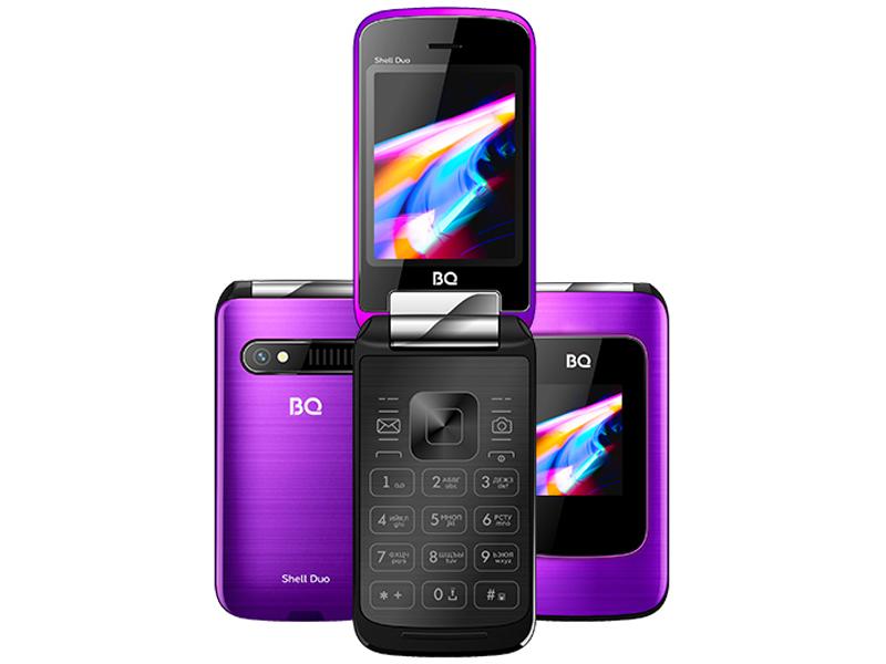 Сотовый телефон BQ 2814 Shell Duo Mirror Purple