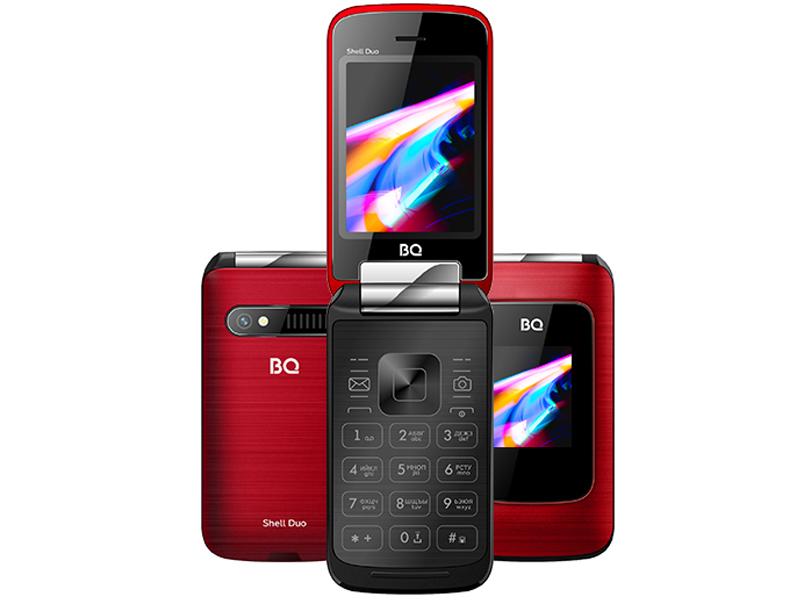 Сотовый телефон BQ 2814 Shell Duo Red