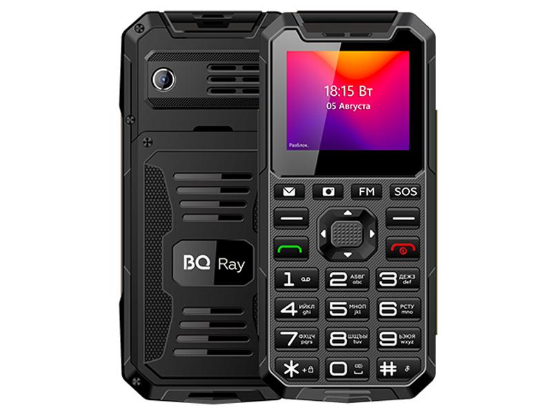 Сотовый телефон BQ 2004 Ray Grey-Black