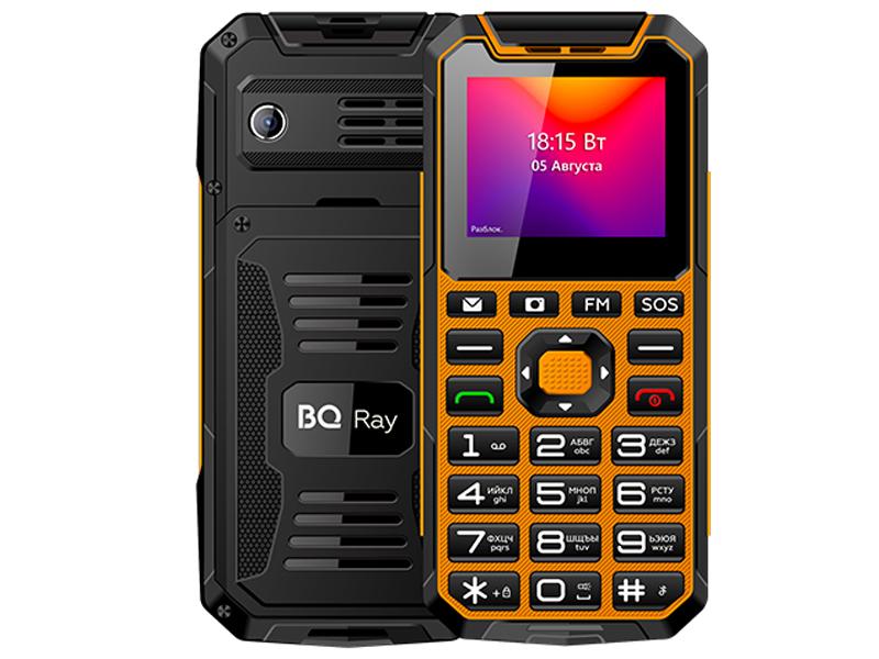 Сотовый телефон BQ 2004 Ray Orange-Black