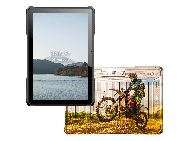 Планшет BQ 1022L Armor Pro LTE+ Print 09 (Spreadtrum SC9832E 1.4 GHz/2048Mb/16Gb/LTE/Wi-Fi/Bluetooth/GPS/Cam/10.1/1280x800/Android) планшет ginzzu gt 7105 silver spreadtrum sc7731 1 3 ghz 1024mb 8gb gps 3g wi fi bluetooth cam 7 0 1280x800 android