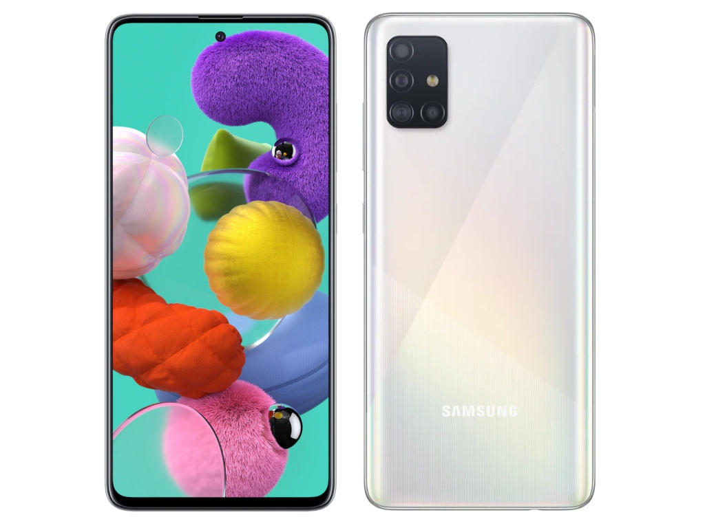 Сотовый телефон Samsung SM-A515F Galaxy A51 4Gb/64Gb White