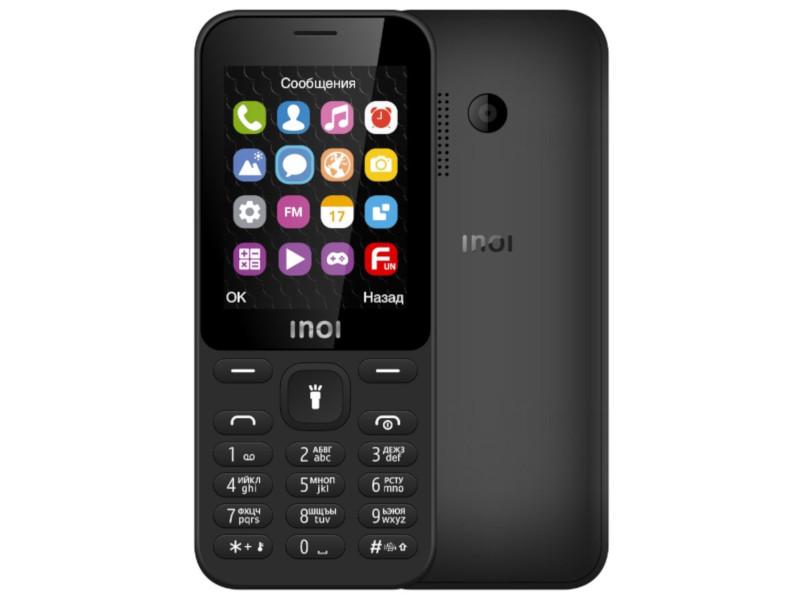 Сотовый телефон Inoi 241 Black сотовый телефон inoi 239 white