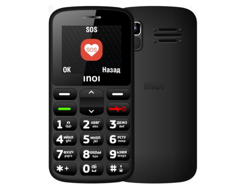 Сотовый телефон INOI 117B Black