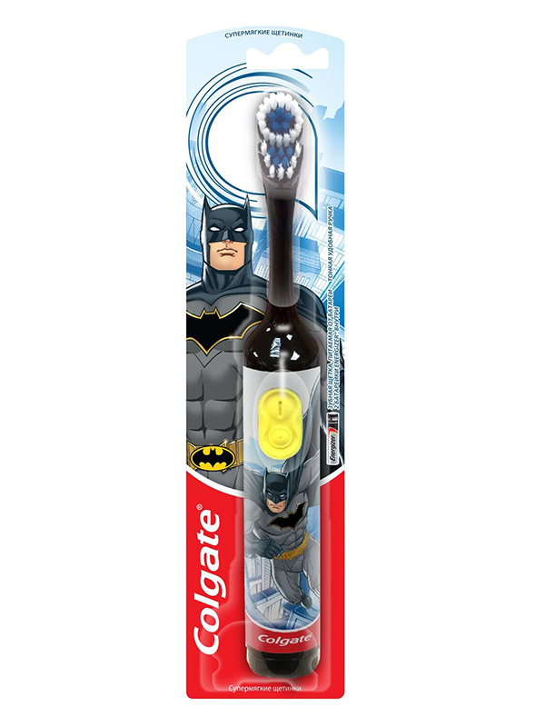Зубная электрощетка Colgate Smiles Batman CN07552A Black CN07552A Batman черн фото