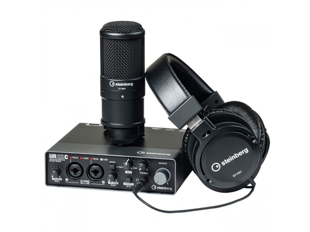 Аудиоинтерфейс Steinberg UR22C Recording Pack