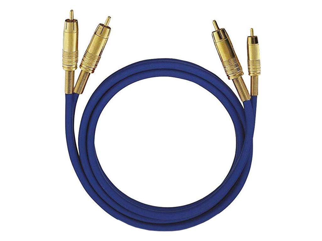 Аксессуар Oehlbach NF 1 Master RCA 3m Blue D1C-2036