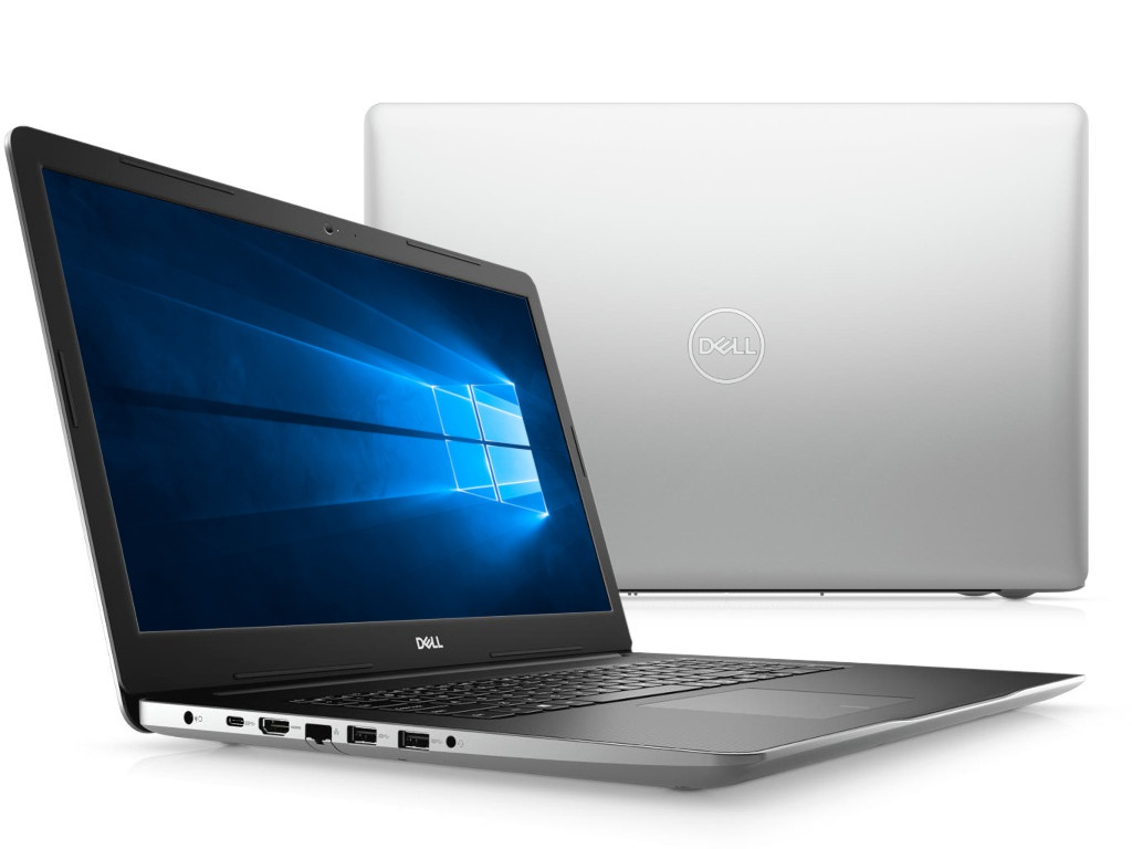 Ноутбук Dell Inspiron 3793 Silver 3793-8573 (Intel Core i5-1035G1 1.0 GHz/8192Mb/1000Gb + 128Gb SSD/DVD-RW/nVidia GeForce MX230 2048Mb/Wi-Fi/Bluetooth/Cam/17.3/1920x1080/Windows 10 Home 64-bit) ноутбук msi gp62 6qf 466ru 9s7 16j522 466 intel core i7 6700hq 2 6 ghz 8192mb 1000gb dvd rw nvidia geforce gtx 960m 2048mb wi fi bluetooth cam 15 6 1920x1080 windows 10 64 bit